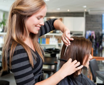 Application coiffure femme
